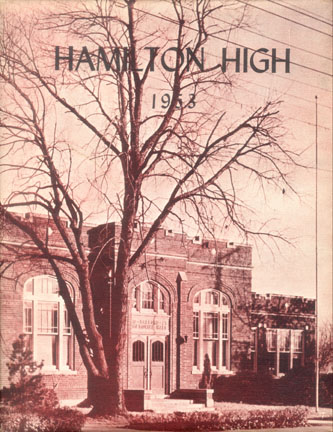 Year Book Cover - 1953